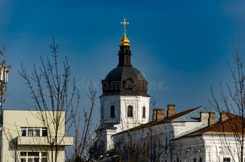 Kyrkor och kloster royaltyfri fotografi