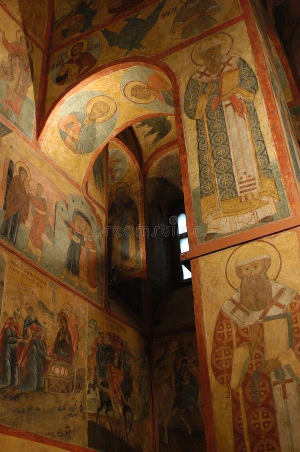 kyrktaga ortodoxt royaltyfria foton