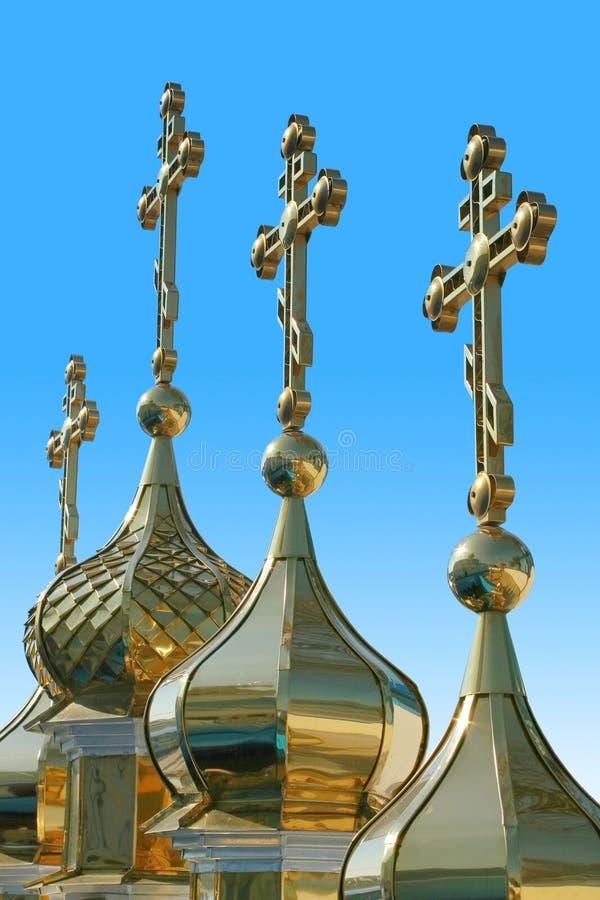 kyrktar kupoler royaltyfri fotografi