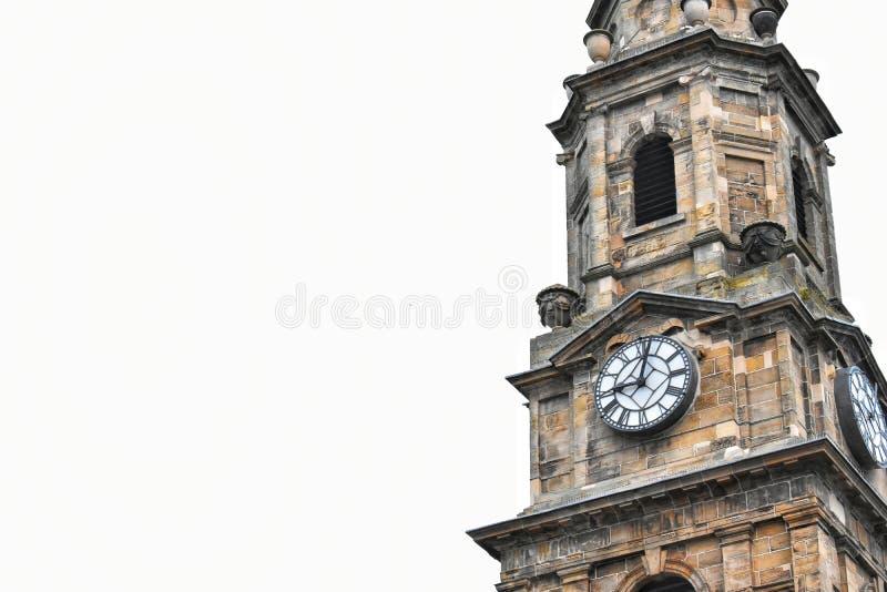 Kyrktorn, Inverness Skottland arkivbild