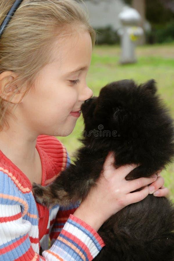 kyssa mig royaltyfri bild