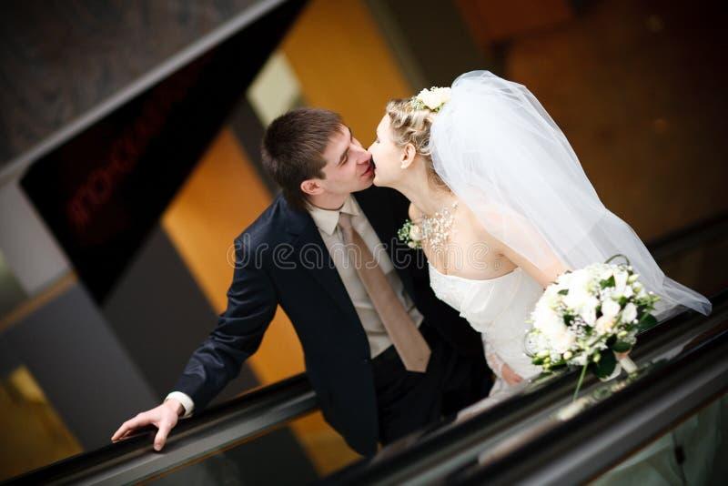 kyssmetro arkivbilder