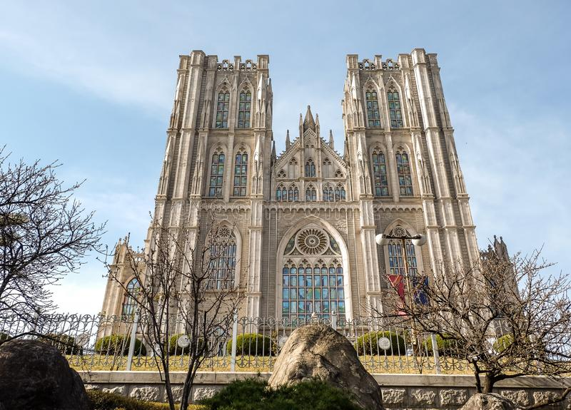 Kyung Hee University royalty free stock photography