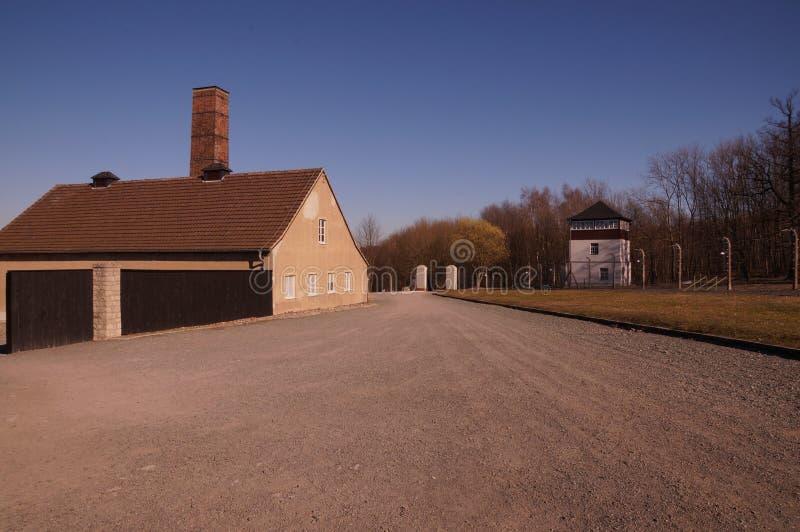 KZ Buchenwald Memorial stock image