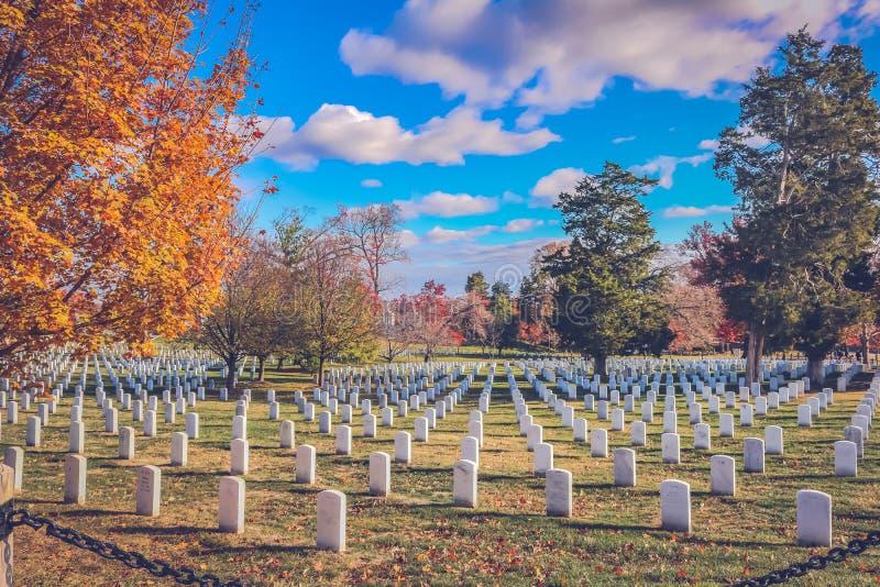 Là où les héros se reposent dans la paix image libre de droits