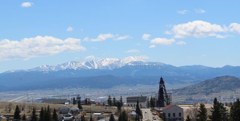 Là où waldo du ` s en butte, Montana photo libre de droits