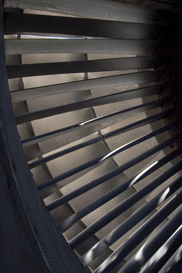 Láminas de turbina 1 foto de archivo libre de regalías