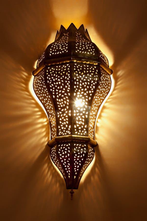 Lámpara árabe imágenes de archivo libres de regalías