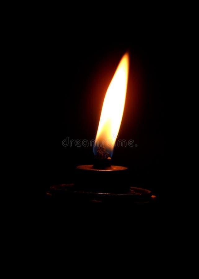 Lámpara ardiente foto de archivo libre de regalías