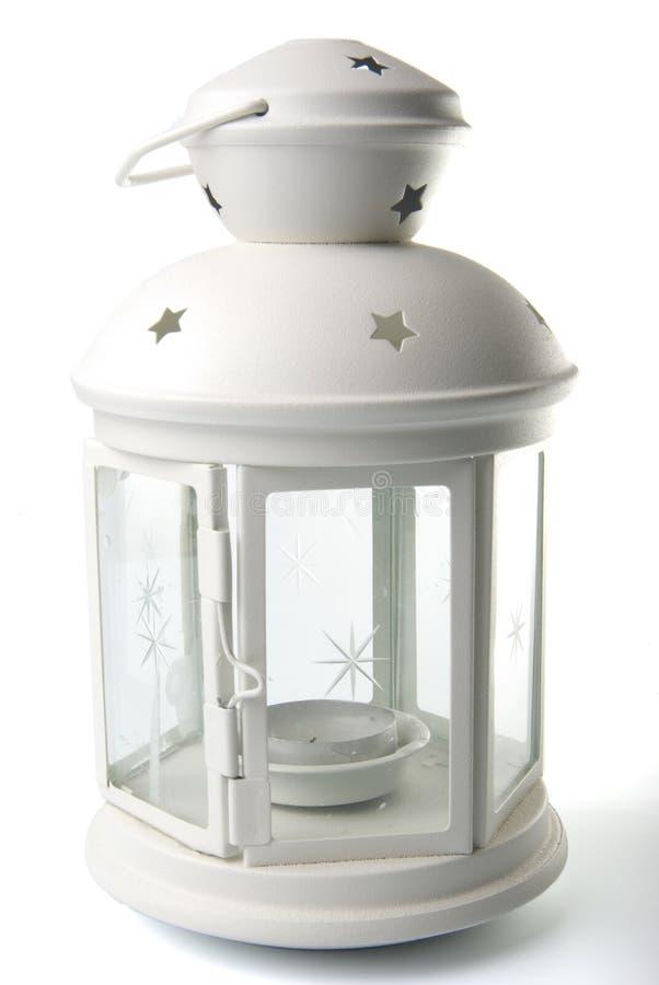 Lámpara blanca foto de archivo libre de regalías