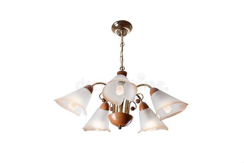Lámpara con cinco luces imagen de archivo