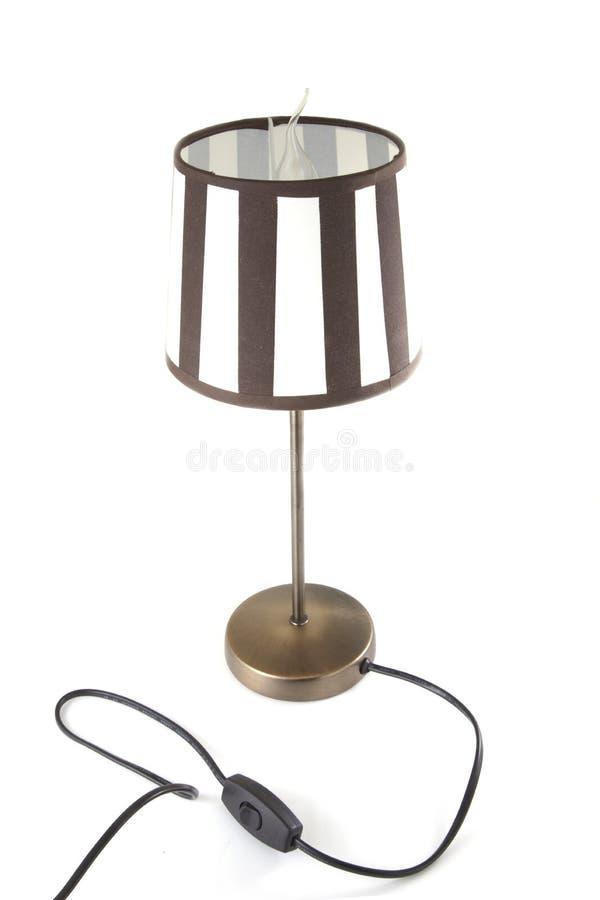 Lámpara de Brown fotos de archivo libres de regalías