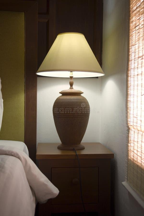 Lámpara de cabecera foto de archivo libre de regalías