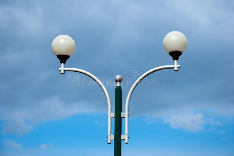 Lámpara de calle de la bola foto de archivo libre de regalías