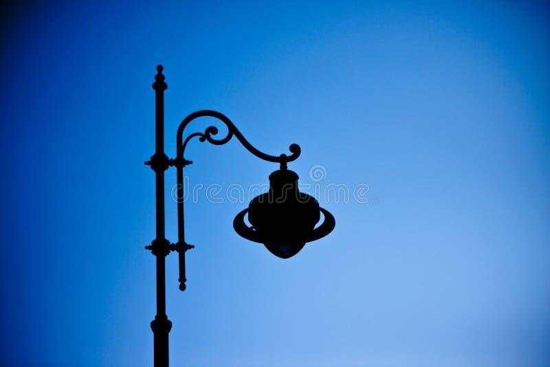 Lámpara de calle pasada de moda imagen de archivo libre de regalías