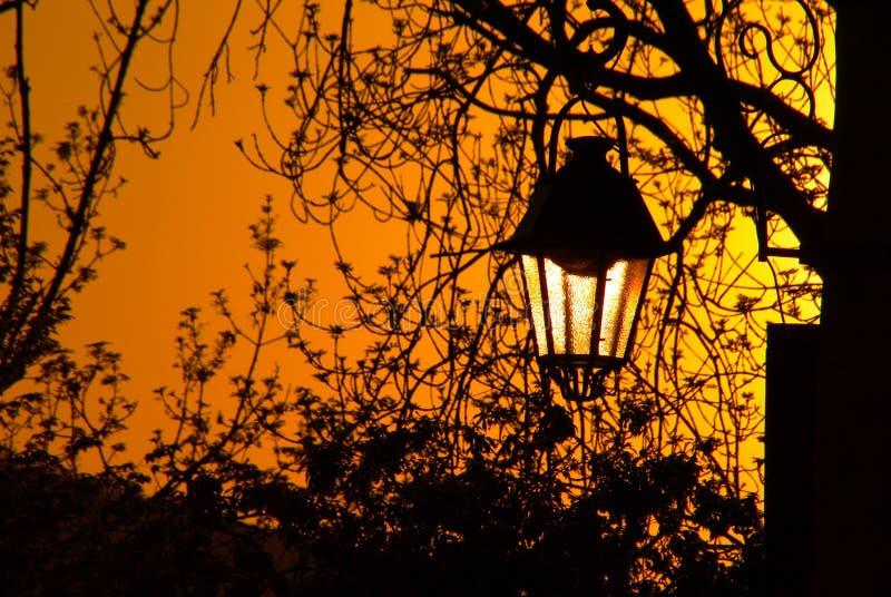 Lámpara de calle vieja imagen de archivo libre de regalías