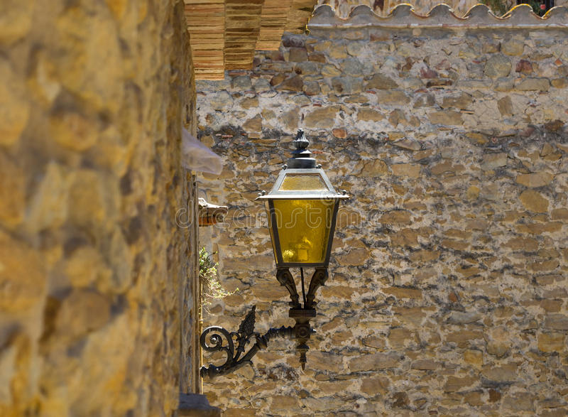 Lámpara de calle vieja fotos de archivo libres de regalías