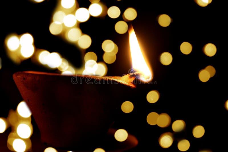 Lámpara de Diwali fotografía de archivo libre de regalías