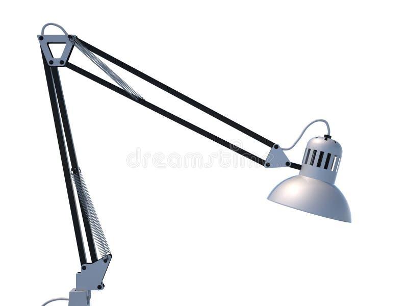 Lámpara de escritorio foto de archivo