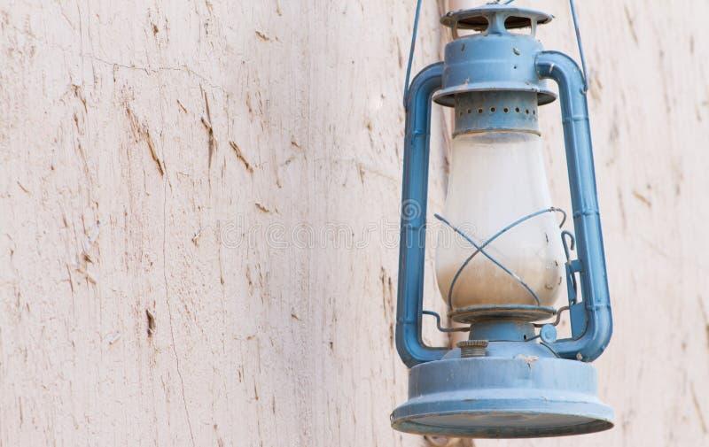 Lámpara de gas árabe vieja fotografía de archivo libre de regalías
