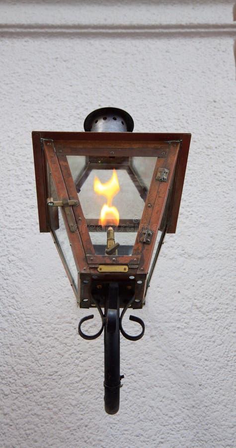 Lámpara de gas fotografía de archivo libre de regalías