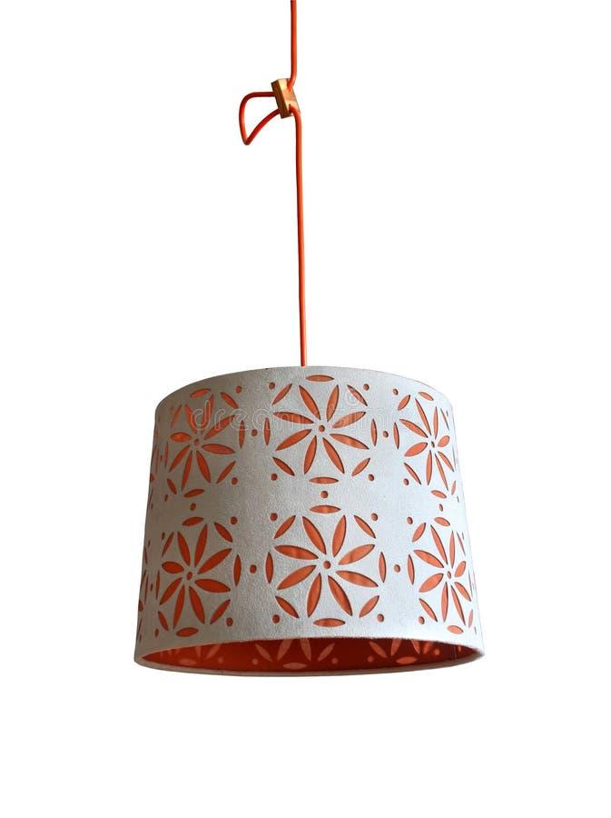 Lámpara de la decoración imagenes de archivo