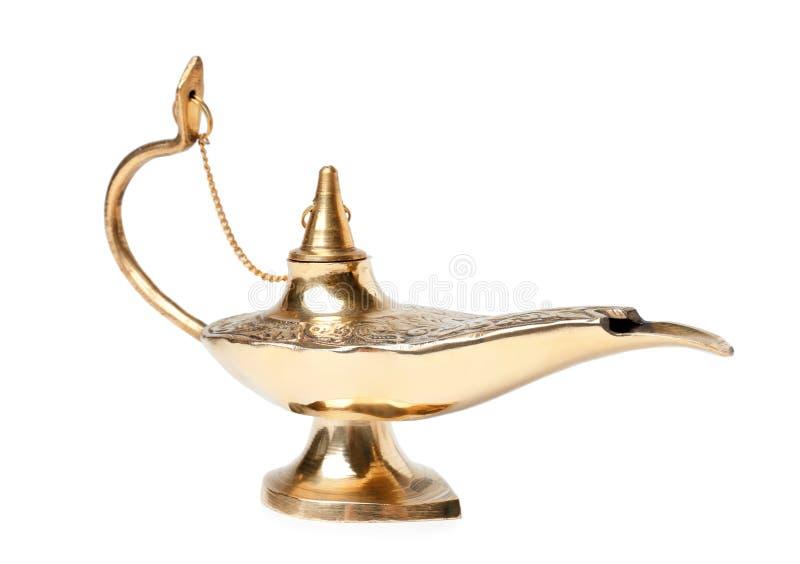 Lámpara de la magia de Aladdin foto de archivo