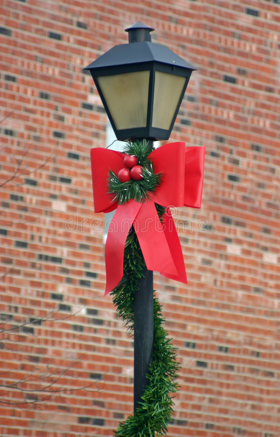 Lámpara de la Navidad imágenes de archivo libres de regalías