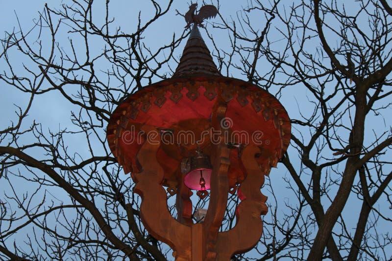 Lámpara de la Navidad fotos de archivo