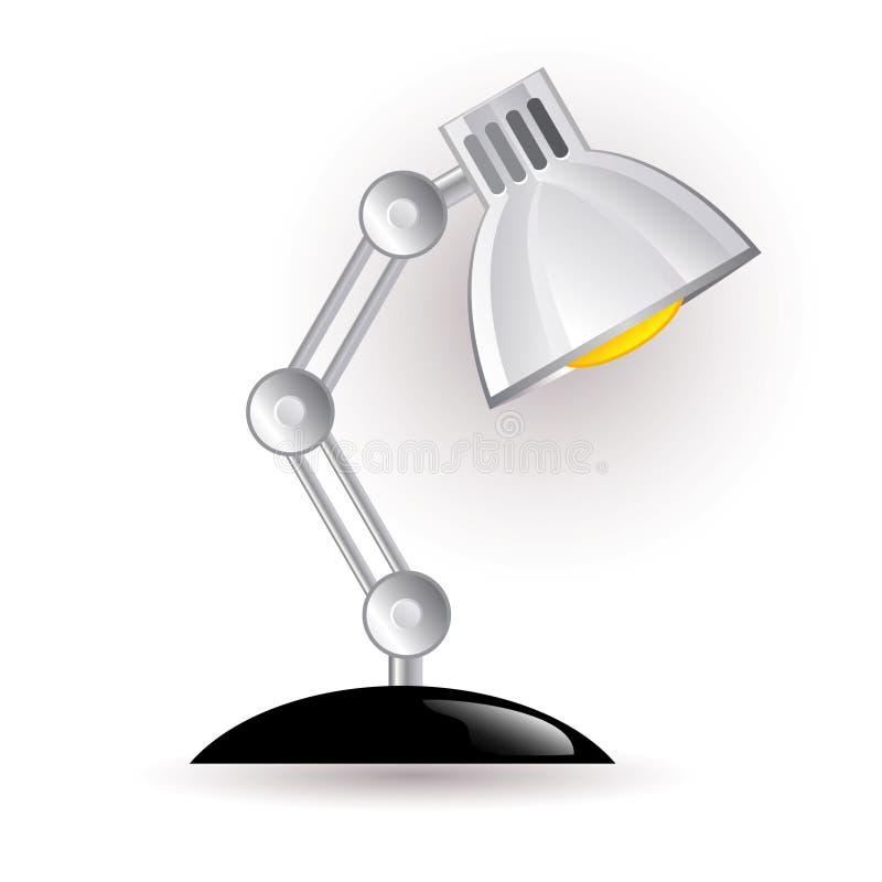 Lámpara de la noche stock de ilustración