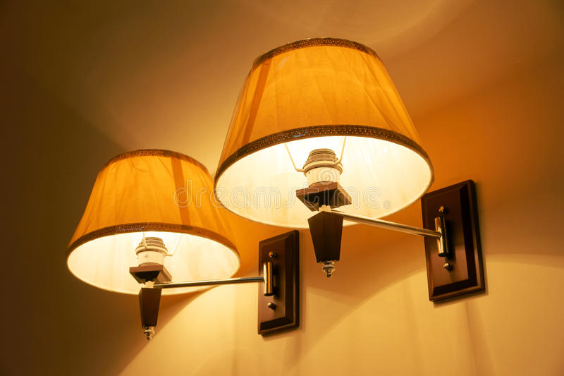 Lámpara de la noche fotos de archivo libres de regalías