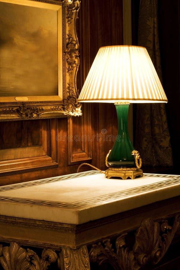 Lámpara de la noche fotos de archivo