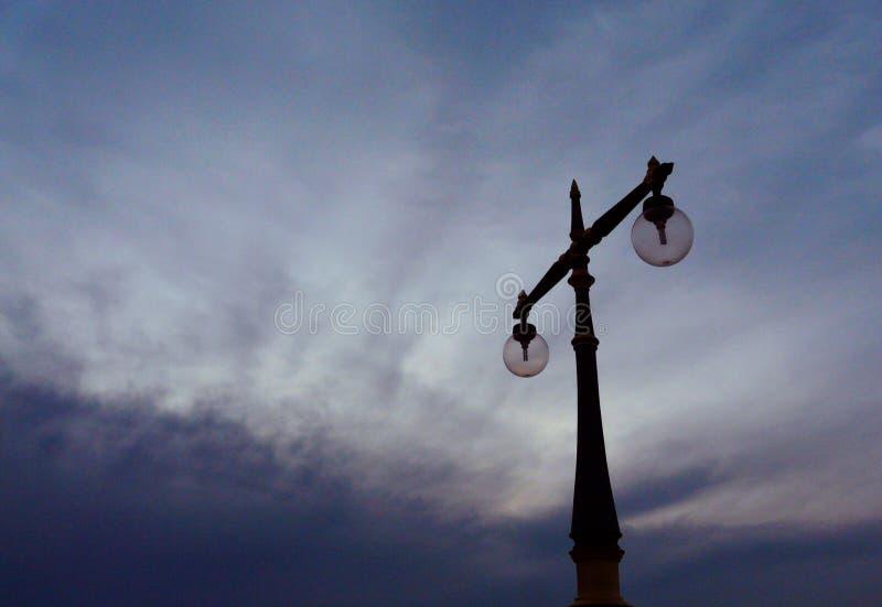 Lámpara de la playa imágenes de archivo libres de regalías