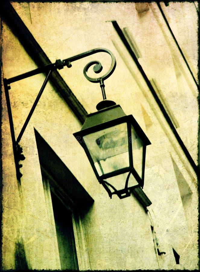 Lámpara de la vendimia ilustración del vector