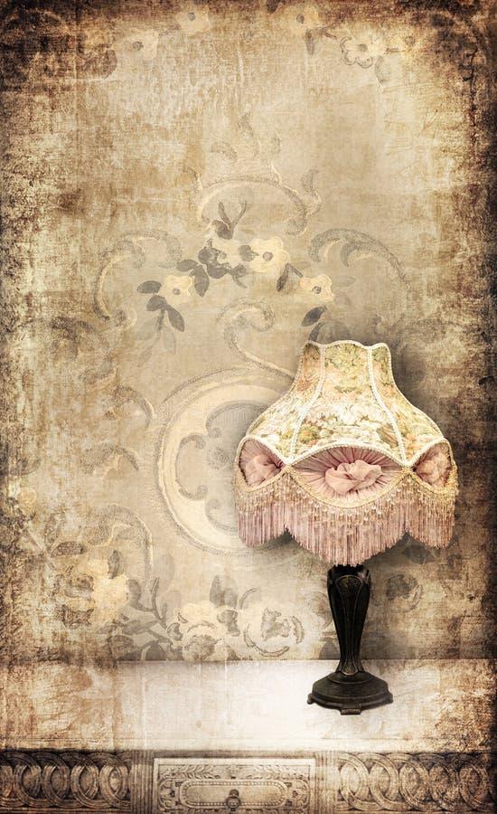 Lámpara de la vendimia libre illustration