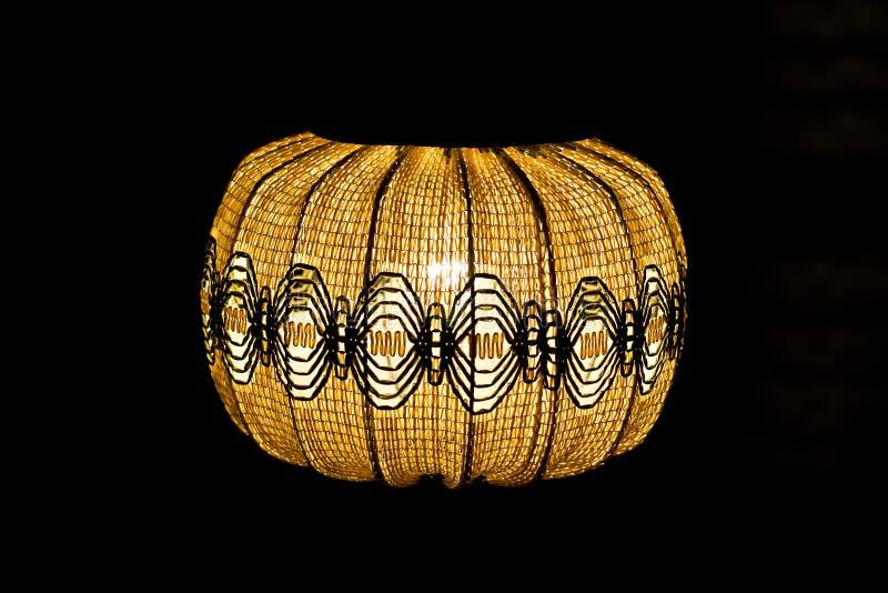 Lámpara de madera fotografía de archivo libre de regalías