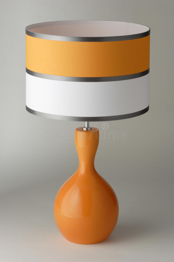 Lámpara de mesa fotografía de archivo