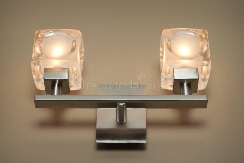 Lámpara de pared moderna imagen de archivo libre de regalías