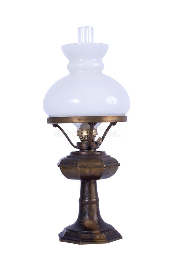 Lámpara de petróleo antigua fotografía de archivo
