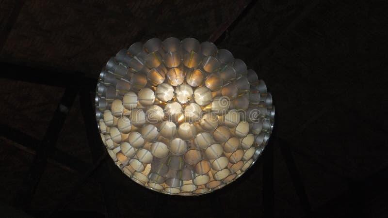 Lámpara de PlasticCup imágenes de archivo libres de regalías