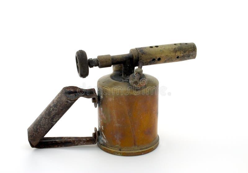 Download Lámpara de soldar vieja foto de archivo. Imagen de fuego - 1286360