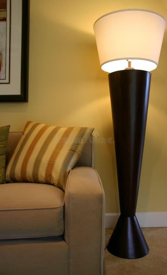 Lámpara de suelo foto de archivo libre de regalías