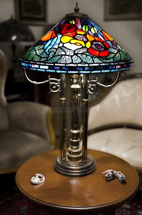 Lámpara de Tiffany fotografía de archivo libre de regalías