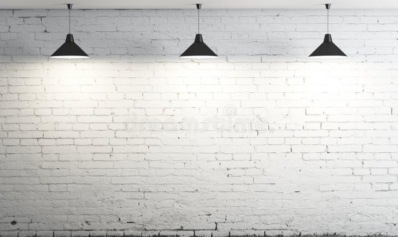 Lámpara de tres techos imagen de archivo