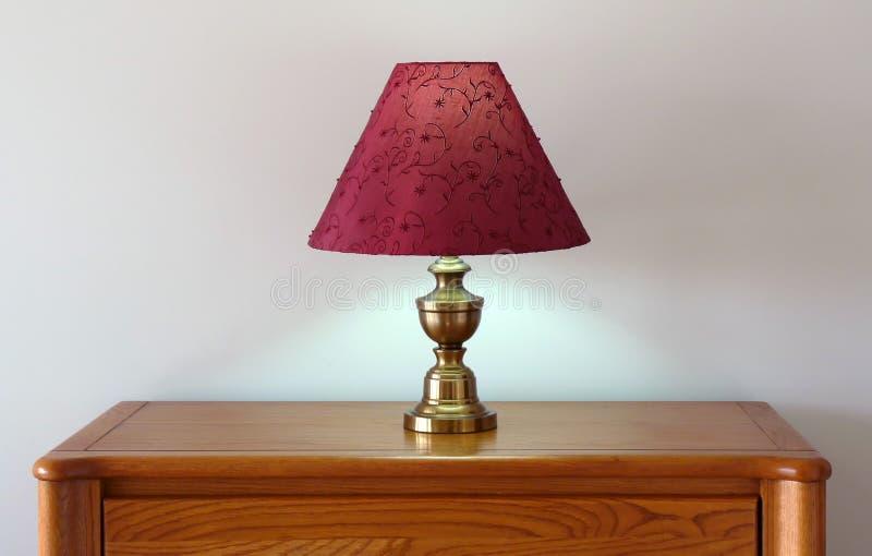 Lámpara de vector del aparador imagen de archivo libre de regalías