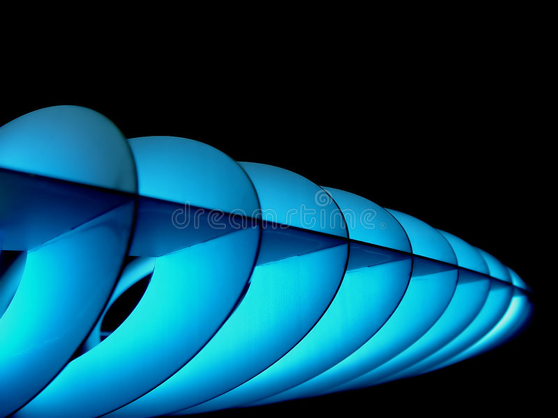 Lámpara del espacio fotografía de archivo
