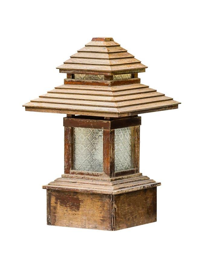 Lámpara del jardín de la acera fotografía de archivo