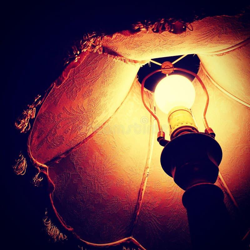 Lámpara del Lit foto de archivo
