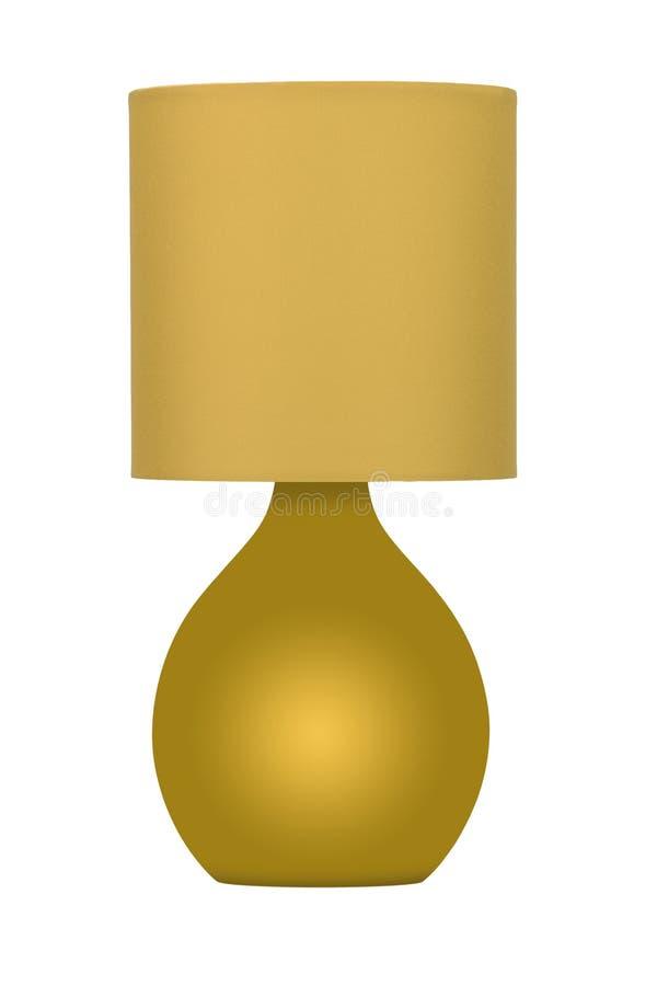 Lámpara del oro fotos de archivo libres de regalías