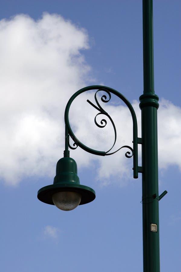 Lámpara del poste imagenes de archivo